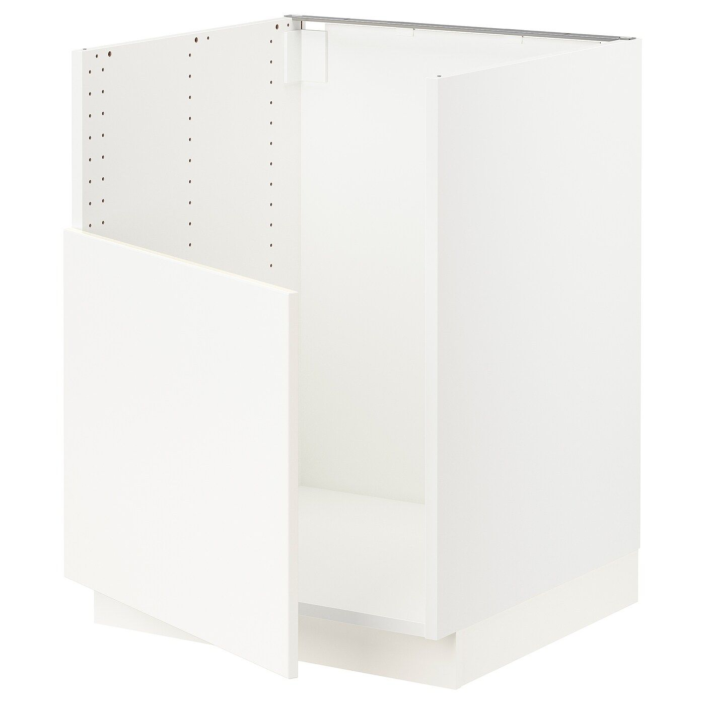 Ikea Sektion White Base Cabinet For Bredsjon Sink Frame Colour Base Cabinets Kitchen Cabinets Fronts Ikea