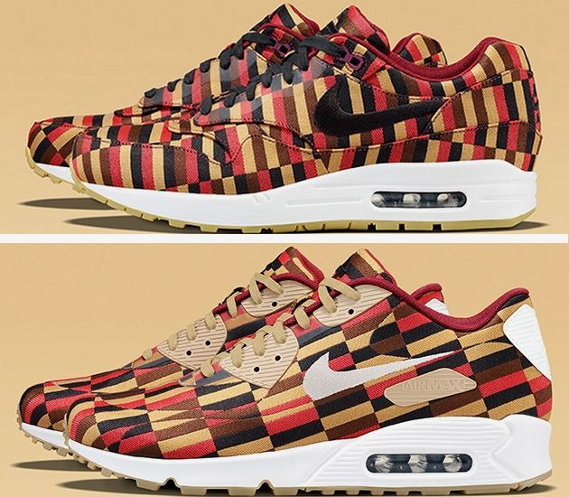 "Nike Air Max 1 & 90 Jacquard ""Roundel by London Underground"