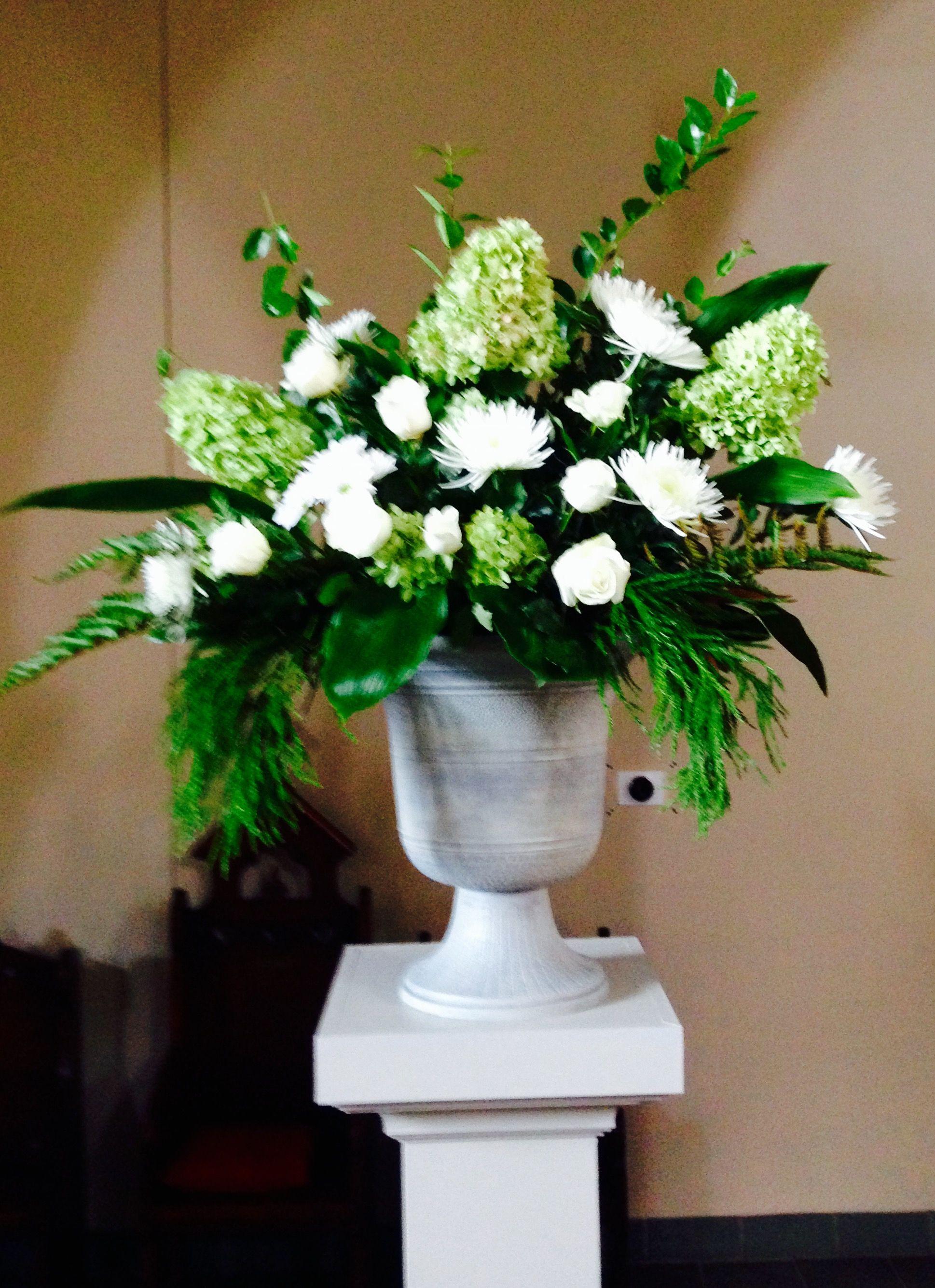 Barbara Moye For Austin Bunchs Funeral St Pauls Flower Guild