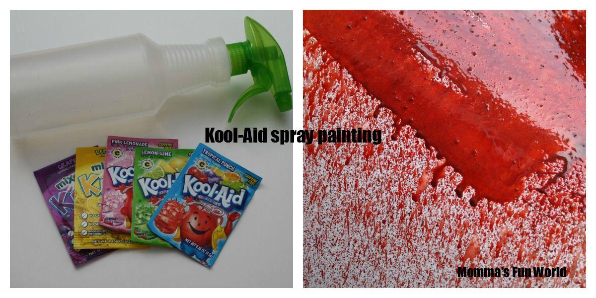 Momma's Fun World: Fun painting with Kool-Aid