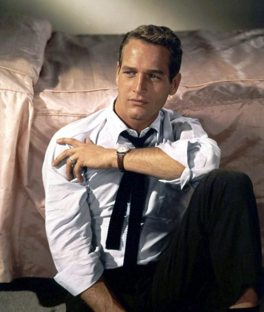 We Had Faces Then. Paul Newman a great method actor/