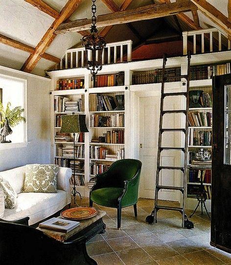 Great Loft Bookshelves