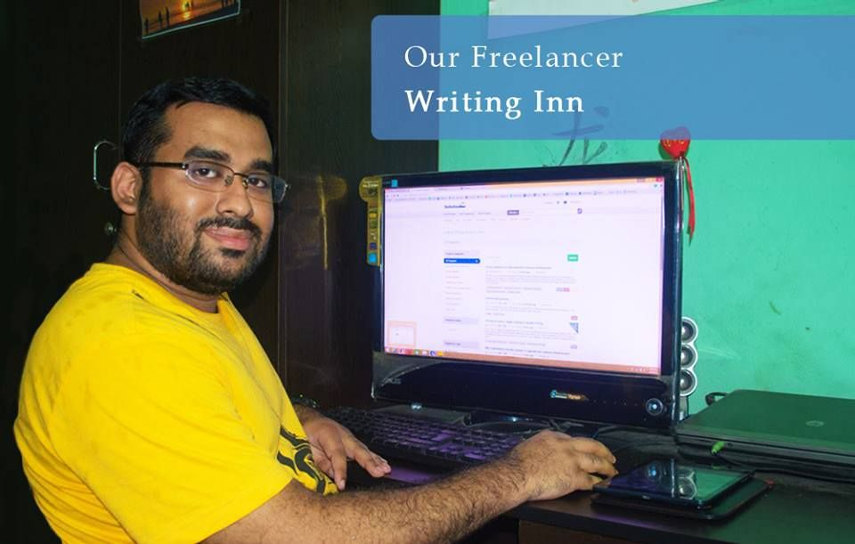 """Our Emerging Freelancer """" Writing Inn"""" feel proud of"""
