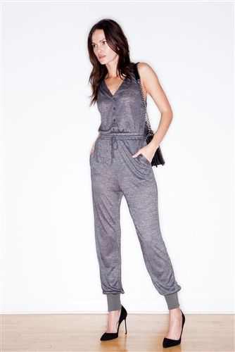 HOW TO WEAR THIS TREND :  KNIT ROMPER TREND - KNIT OVERALLS - KNIT SALOPETTE  Moxie Knit Jumpsuit
