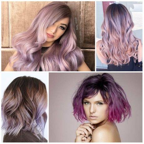 Neue Haarfarben 2018   Haarfarben   Haarfarben, Lila ...