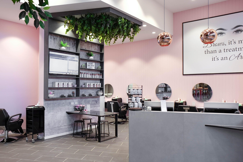 Doll Face Brown & Makeup Studio - Robina Town Centre  Design