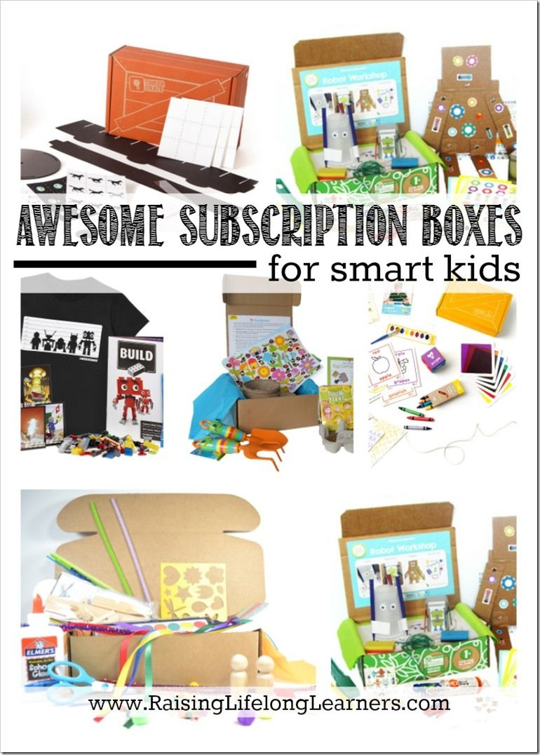 Gifts for Gifted Kids Gifted kids, Subscriptions for