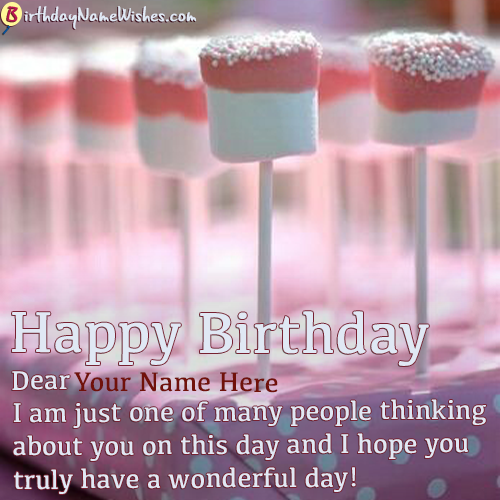 Birthday Wishes For Teenage Girls With Name Generator Happy