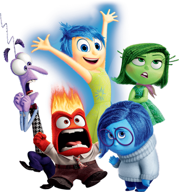 1198 H 1283 Disney Inside Out Animation Film Movie Inside Out