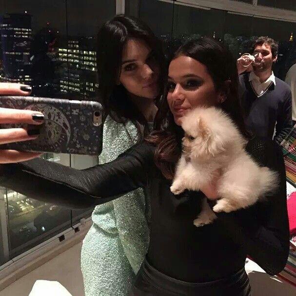 Kendall Jenner And Bruna Marquezine Marquezine Bruna Marquezini