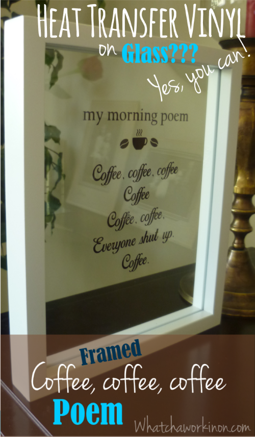 Floating Picture Frames Cricut