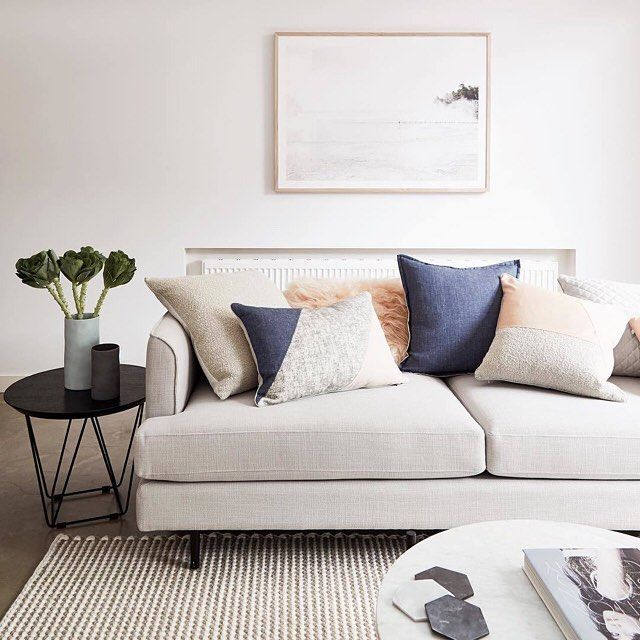 GlobeWest Gus Margot Sofa. Image: @stylingproperties #globewest #furniture  #livingroom #