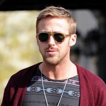 cdf49836f5 Ryan Gosling in Persol PO0714 Folding Sunglasses