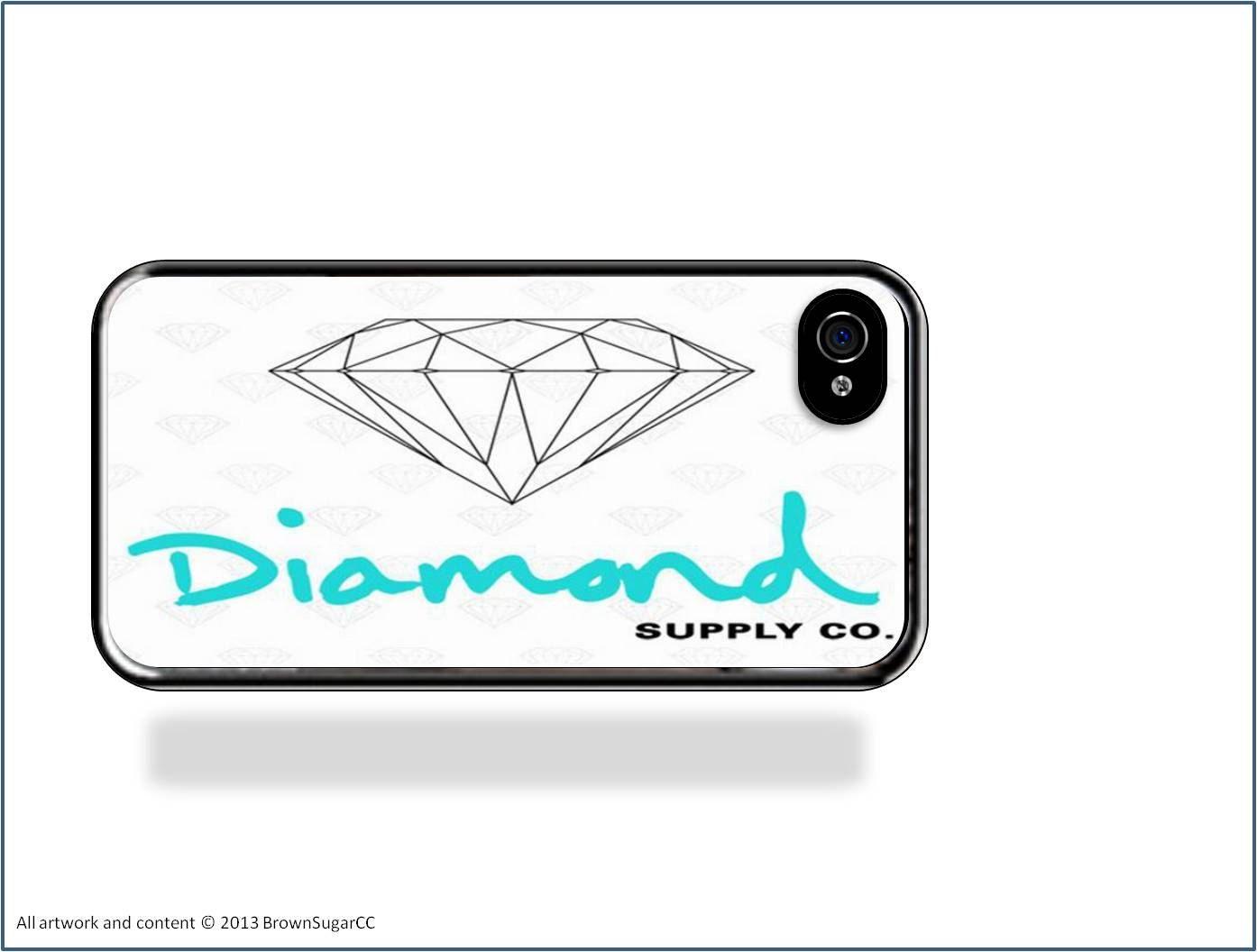Diamond Supply Company Iphone 5 Case White Diamond Iphone
