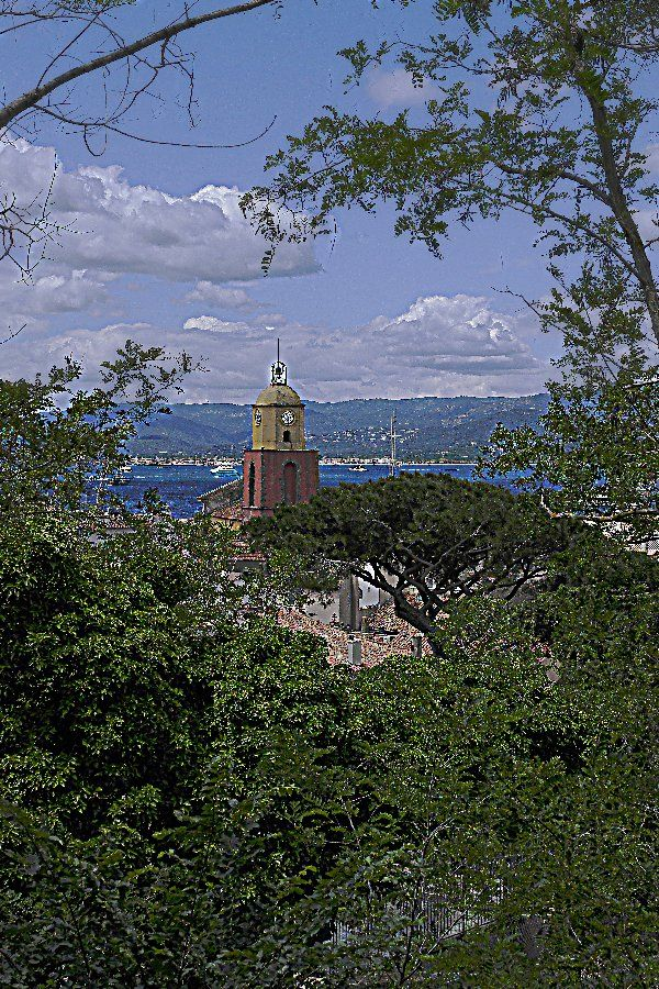 St.Tropez. Example for landscape photography.