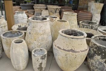 Ted Lare Garden Center   Clay Pottery