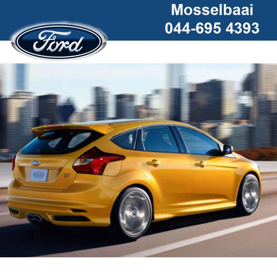 The 2013 Ford Focus St Has A 256 Bhp Turbo Charged Inline 4