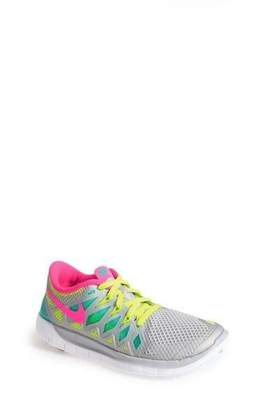 Nike 'Free 5.0' Running Shoe (Big Kid) available at #Nordstrom