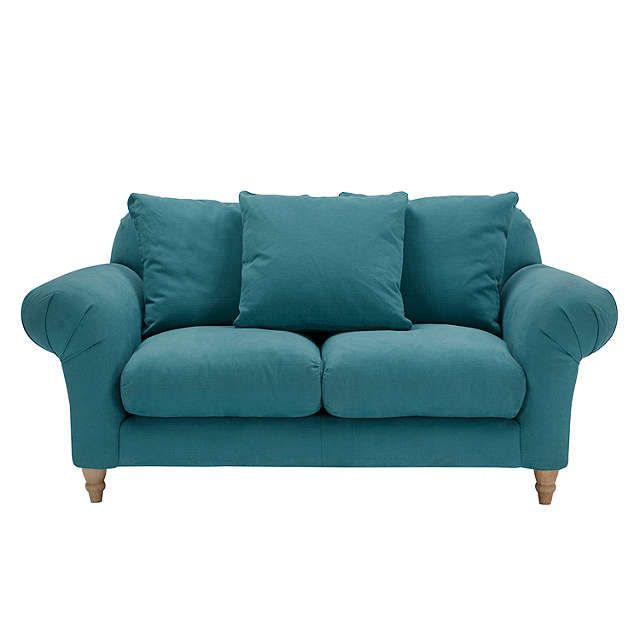 Doodler Small 2 Seater Sofa By Loaf At John Lewis Brushed Cotton Teal 2 Seater Sofa Sofa 3 Seater Sofa