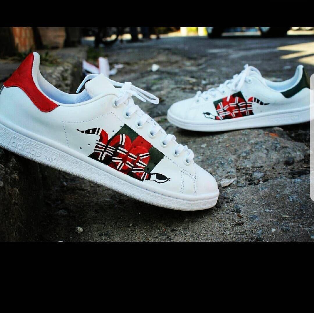 Adidas stan smith Custom Gucci\
