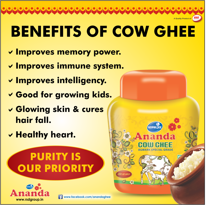 Cowghee Is Made From Milk Of Cow Having Lots Of Nutritional Health Benefits It Is Considered As The Essential P Ghee Benefits Health And Nutrition Nutrition
