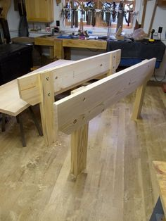 Knockdown Nicholson Workbench Day 1 2 Wood Working
