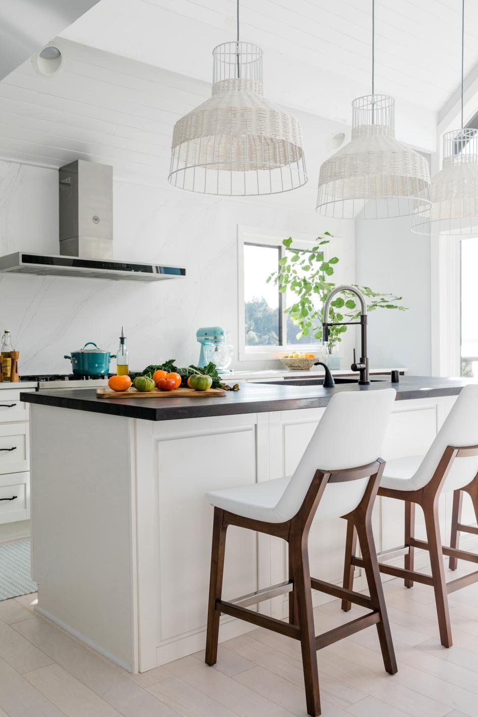 the light and bright kitchen at hgtv dream home 2018 with