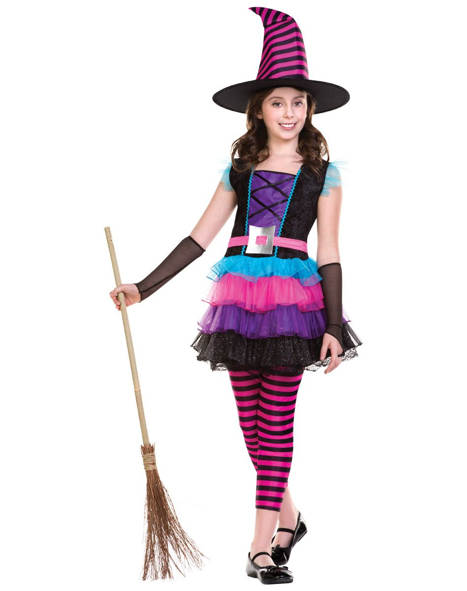Neon Witch Child Costume exclusively at Spirit Halloween - There ...