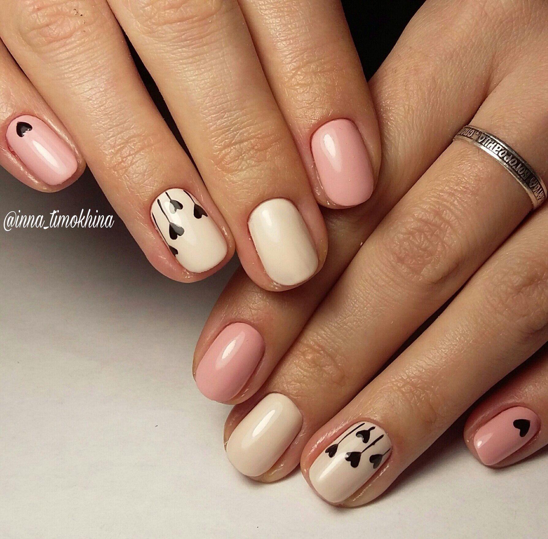 Pin de alya en nails en 2019 u as cortas modelos de - Modelo de unas pintadas ...
