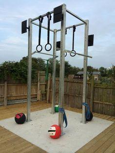 outdoor crossfit rig  google search  gimnasio en casa
