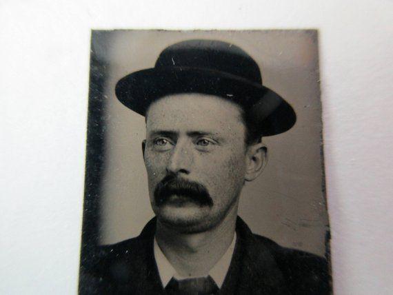 Antique miniature gem tintype photo - 1800s c44d1f9c2b3