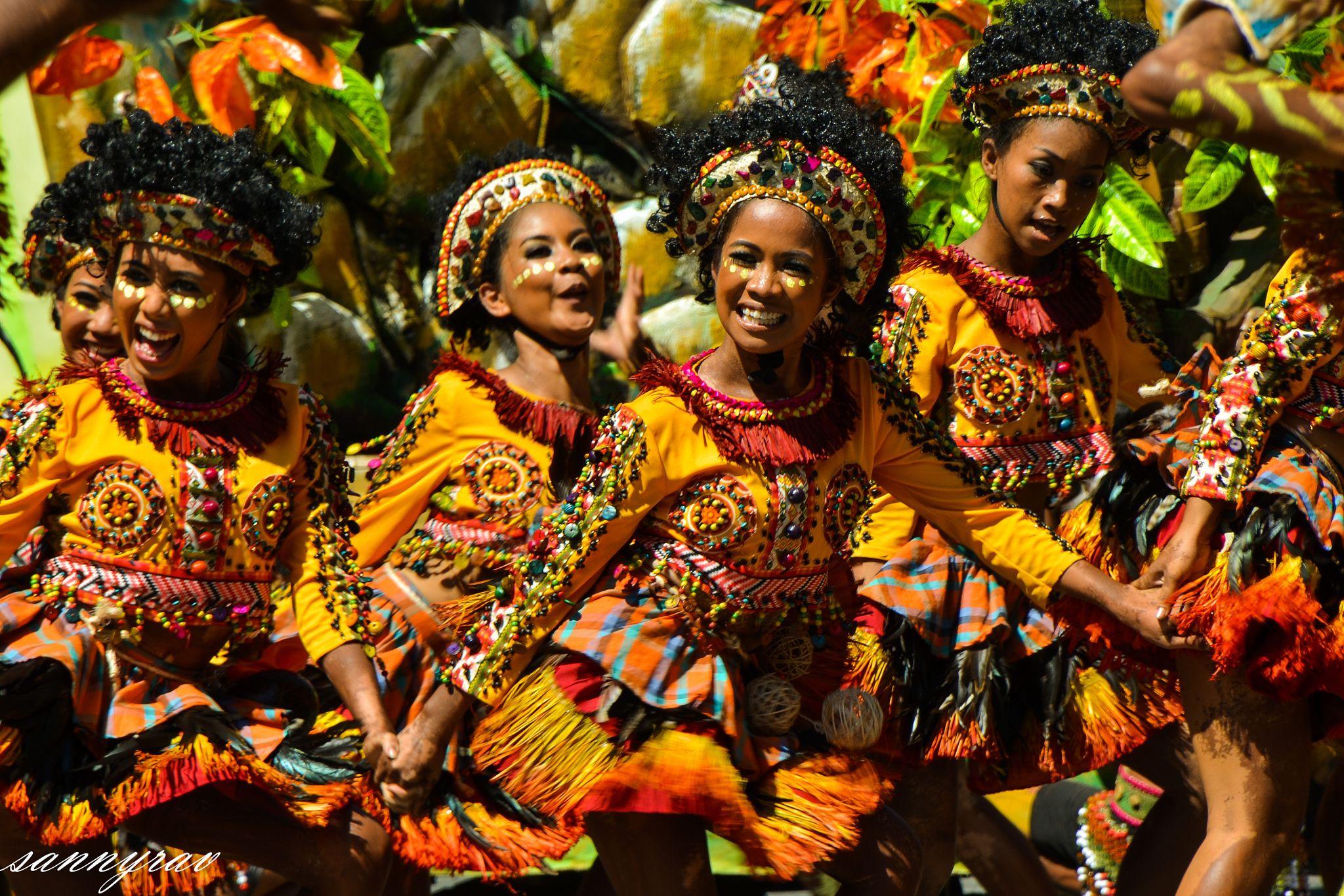 tribal dance Dinagyang Festival, Iloilo City