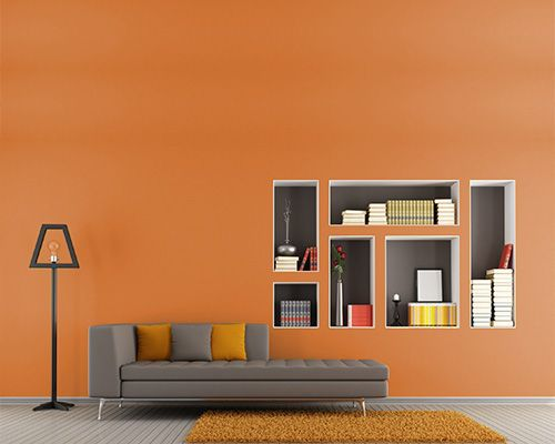 Dull Orange And Gray Decor (500×400) | Baby Henry | Pinterest |  Terracotta, Search And Colour