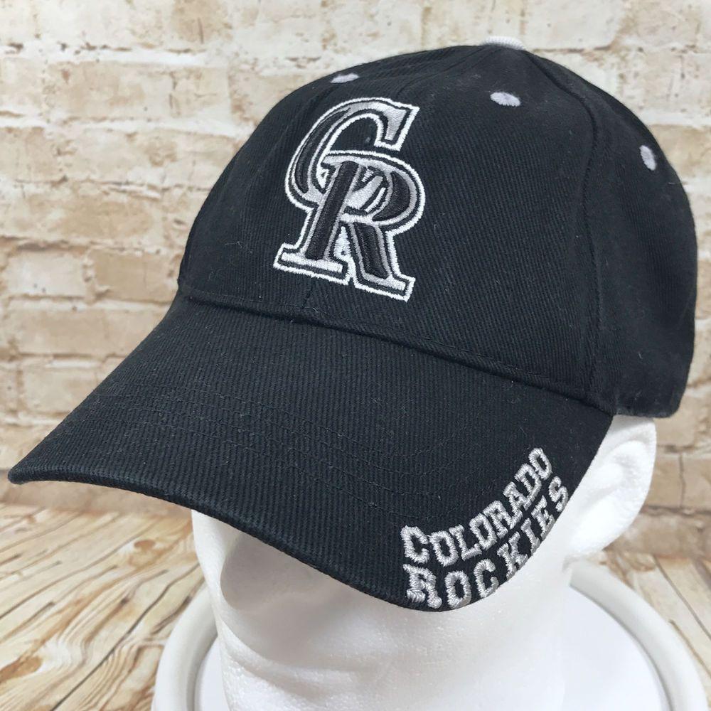sale retailer 5e67e 83711 ... canada colorado rockies mlb genuine merchandise black baseball cap hat  adjustable fanfavorite baseballcap 99297 c9c28