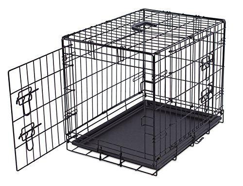 Internetu0027s Best Wire Dog Kennel   Small (24 Inches)   Double Door Metal  Steel
