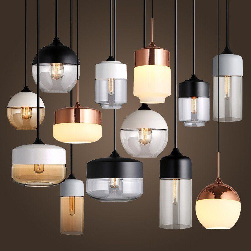 Toledo Minimalist Contemporary Pendant Light ...