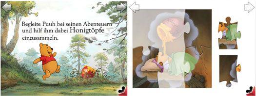 Winnie Puuh Puzzle Buch