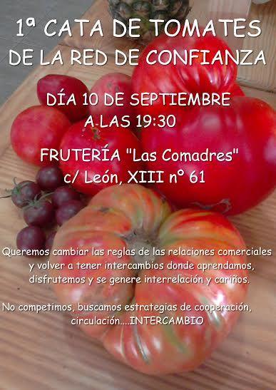 1ª CATA DE TOMATES DE LA RED DE CONFIANZA ecoagricultor.com