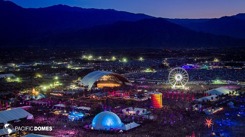 Coachella 2019 Youtube Concert Hall Livestream 360 Dance Dome