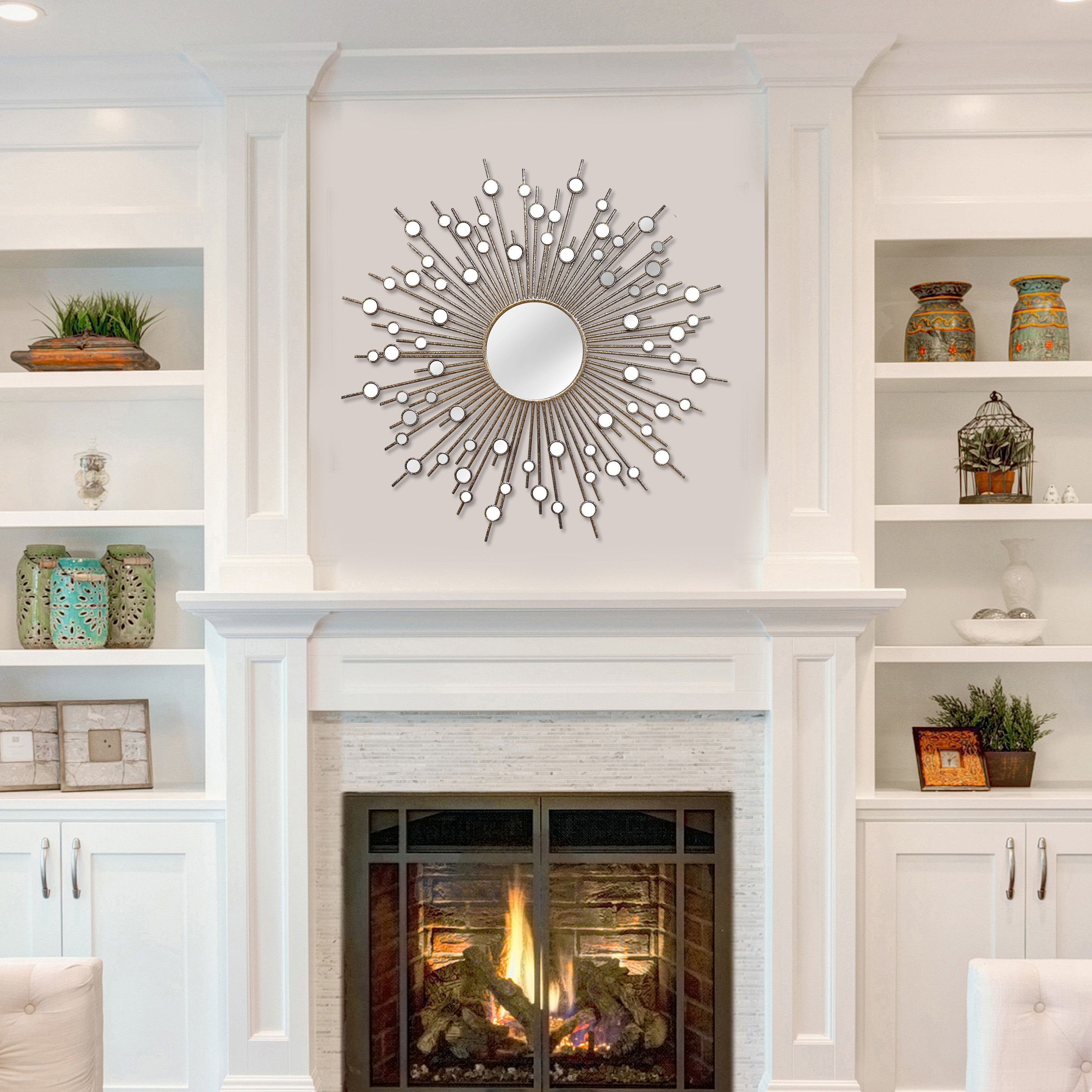 Penelope Over Mantel Mirror Miral S Dining Room Pinterest Wall
