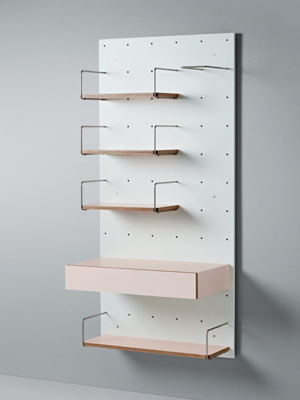 cantilever wanda shelving system the design files australias most popular design blog - Most Popular Design Blogs