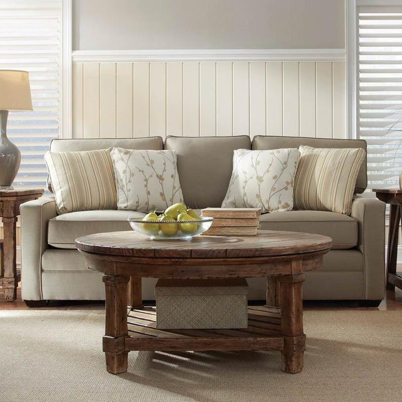 Custom Select Upholstery Custom 3 Seater Stationary Sofa By Kincaid  Furniture