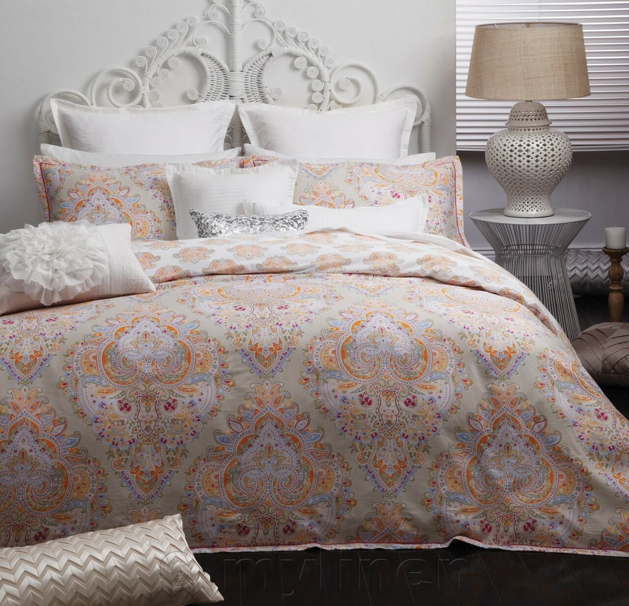 Doona Protector Shreya Sorbet Quilt Doona Cover Set Logan And Mason Bedroom