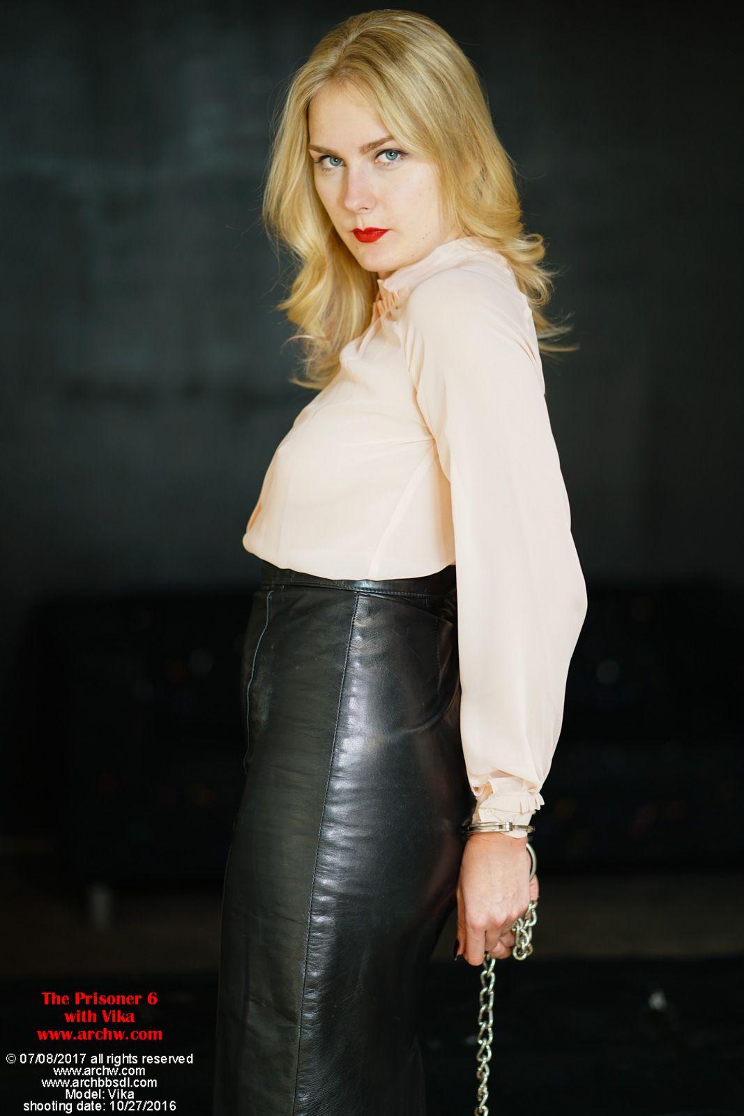 Pin Von Hugo Schmitz Auf Bound In Leather Skirts In 2019