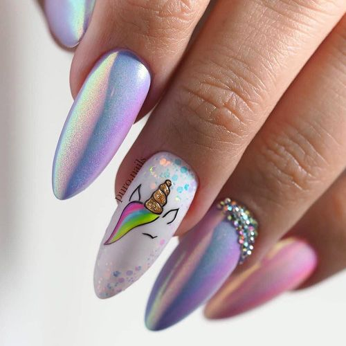 30 of the Best Spring Nails from Instagram - FavNailArt.com