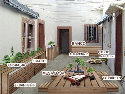 Decorar patio peque o jardiner a plantas y huertos pinterest patios pergola patio and - Como decorar un patio pequeno interior ...
