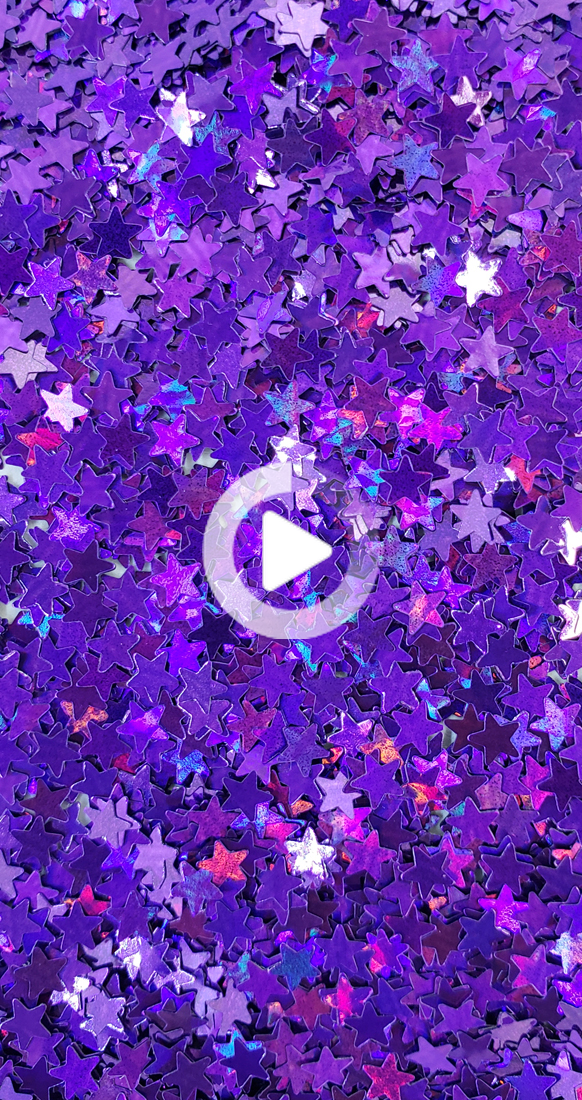 Aesthetic sparkles purple butterflies wallpapers. Purple Star :Holographic Polyester Shaped Glitter (Mini ...