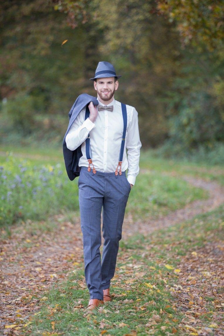 Bräutigam vintage-stil hochzeitsinspiration romantische gartenhochzeit im bohostil