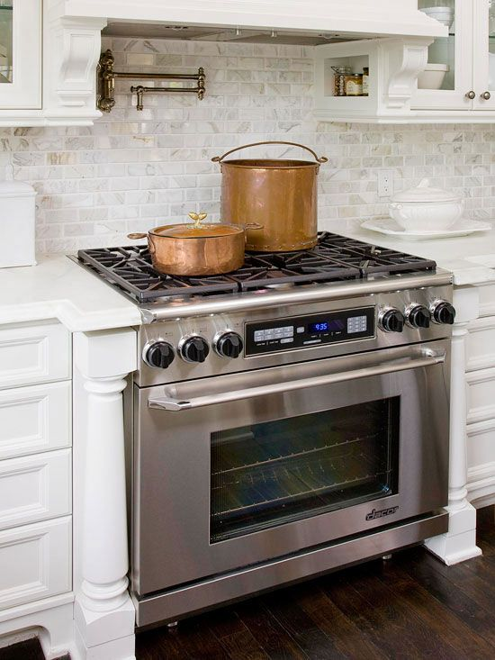 Dual Fuel Range A Must Have And I Love The Backsplash