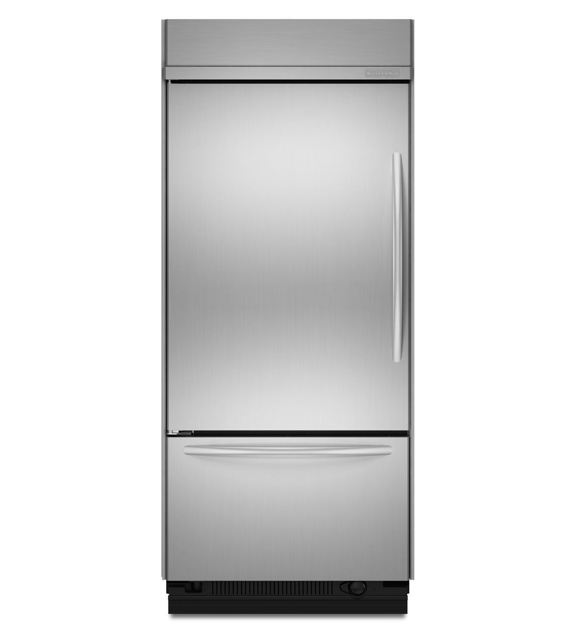 Shop Kitchenaid 20 8 Cu Ft Built In French Door: KitchenAid® 20.5 Cu. Ft. 36-Inch Width Built-In Bottom-Freezer Refrigerator, Architect® Series